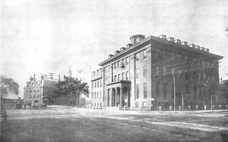 photo of brattle square 1892