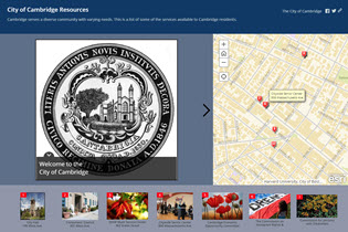 Cambridge Resources Story Map