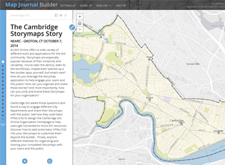 Cambridge, Storymap, Story, story map, esri, gis, map, embedded map, interactive map, ma