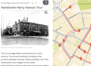 Cambridge Handsome Harry Hanson Story Map Journal