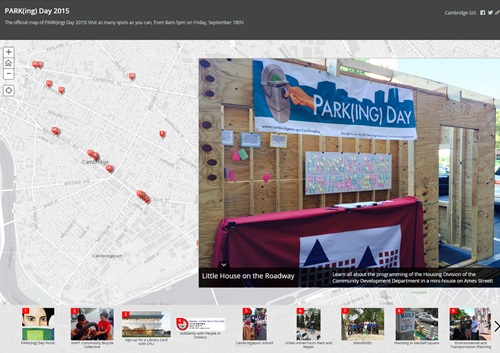 Parking Day 2015 Cambridge, MA