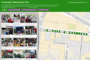 Parking Day 2018 Story Map