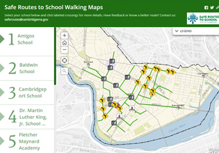 Safe Routes to School Story Map