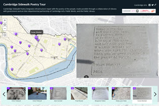 Sidewalk Poetry Story Map