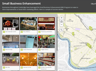 Small Business Enhancement Story Map Short List