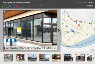 Cambridge Vacant Storefront Story Map