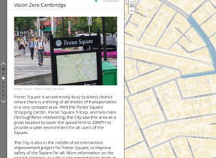 Vision Zero Story Map