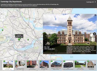 storymap, GIS, city departments, cambridge, ma