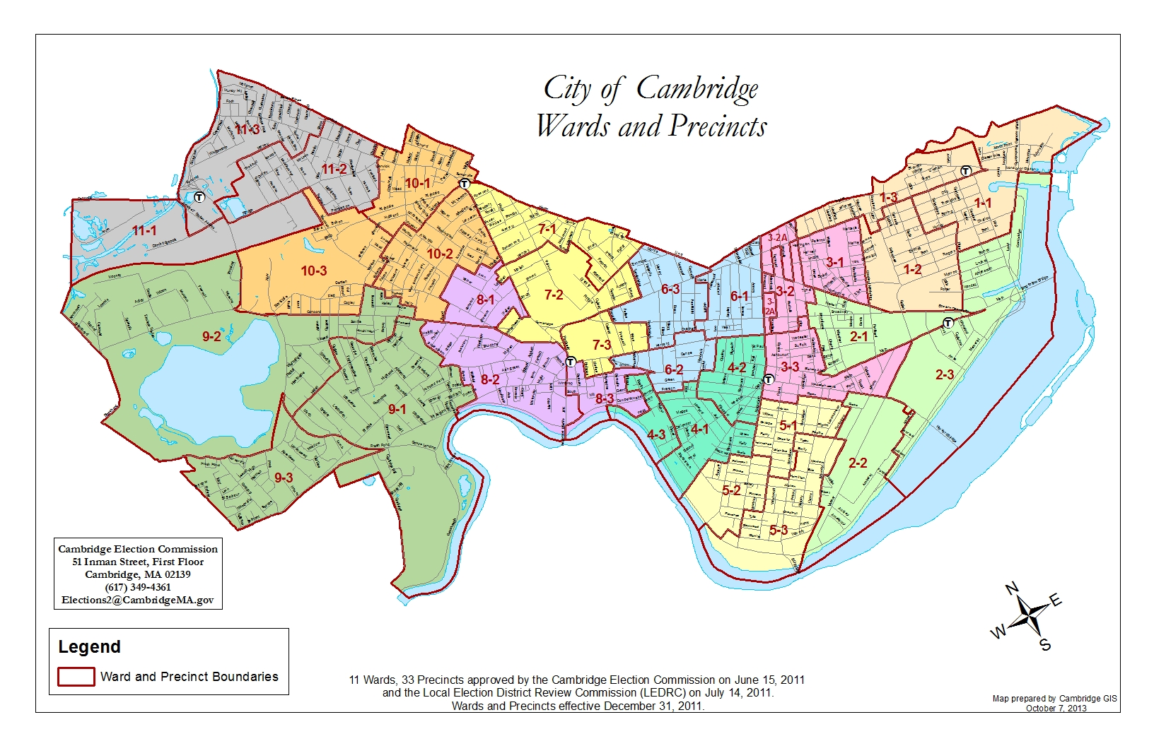Election Maps GIS City of Cambridge Massachusetts