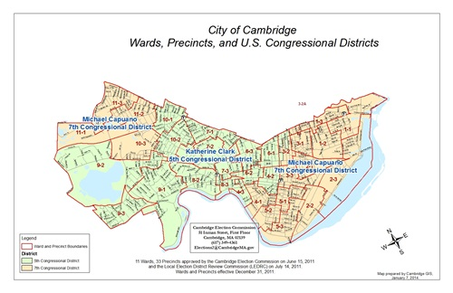 Election Maps GIS City Of Cambridge Massachusetts - Us congress election map