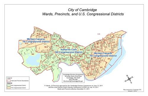Election Maps GIS City Of Cambridge Massachusetts - Us congress election map