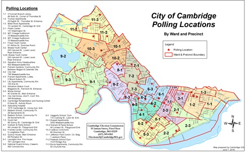 Election Maps GIS City Of Cambridge Massachusetts - Maps massachusetts