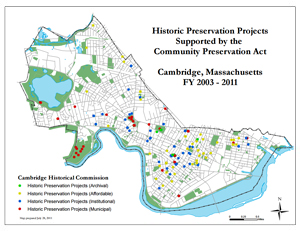 CPA, Historic Projects