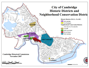 Historic Districts, Neighborhood Conservation Districts