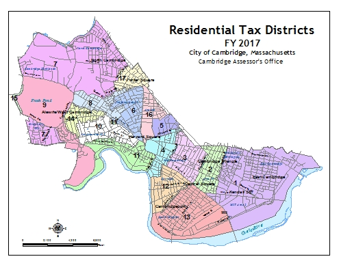 Fiscal Year 2017 Residential Tax Districts
