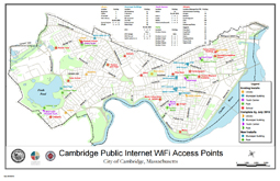 Citywide Wireless Access Point Map