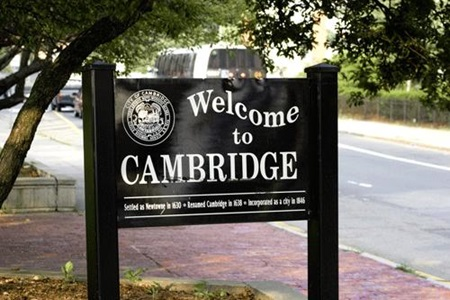 Welcome to Cambridge - See on inside front cover of Resident Information Booklet