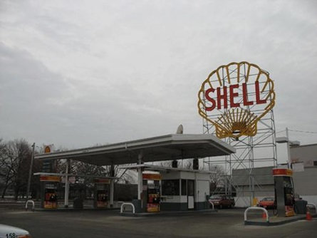 Shell Station on Magazine Street
