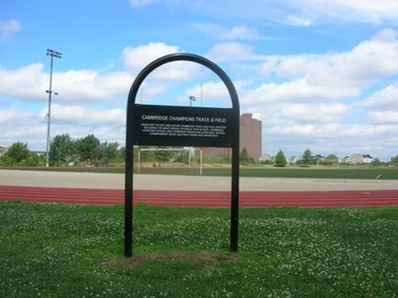 Track of Champion - Danehy Park