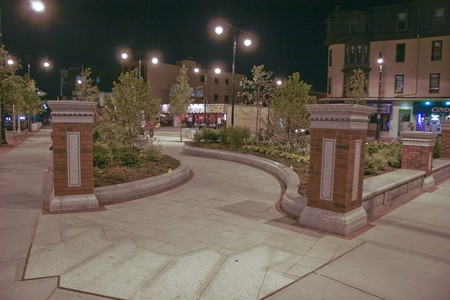 New Park on Mass Ave.
