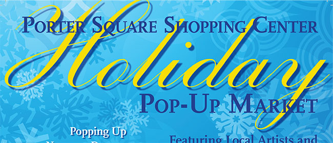 Holiday Pop-Up Market 2018