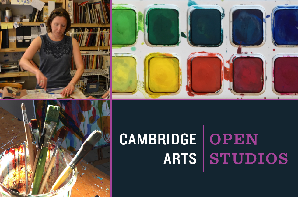 Cambridge Arts Open Studios, tiled image
