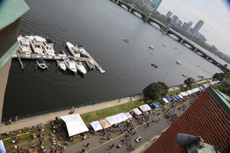 A Bird's Eye view of River Festival