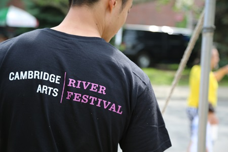A River Festival Volunteer