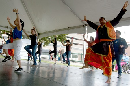 BollyX leads the crowd in Bollywood-inspired dance