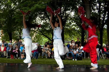 Chu Ling Dance Academy performs