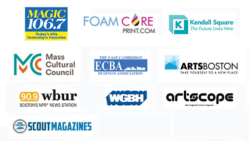 2018 Cambridge Arts River Festival sponsor logos.