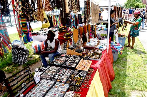 Arts Bazaar, World of Food, Craft Beer Garden, Community