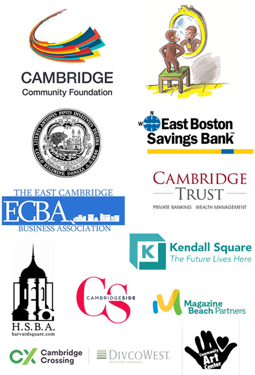 2019 Cambridge Arts Summer In The City sponsor logos