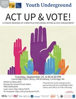 Event image for National Voter Registration Day: Act Up & Vote!