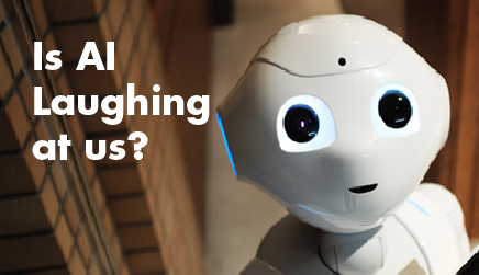 Event image for Is AI Laughing At Us