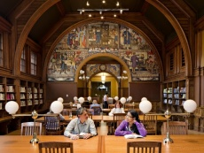 small photo of the reading room