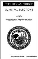 Voting by Proportional Representation brochure cover