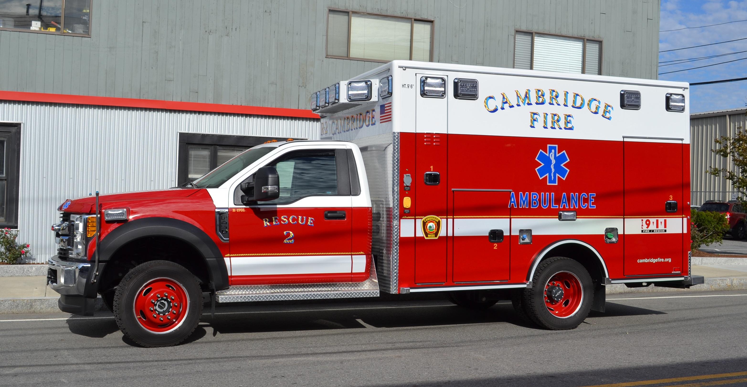Special Units Fire Department City Of Cambridge Massachusetts