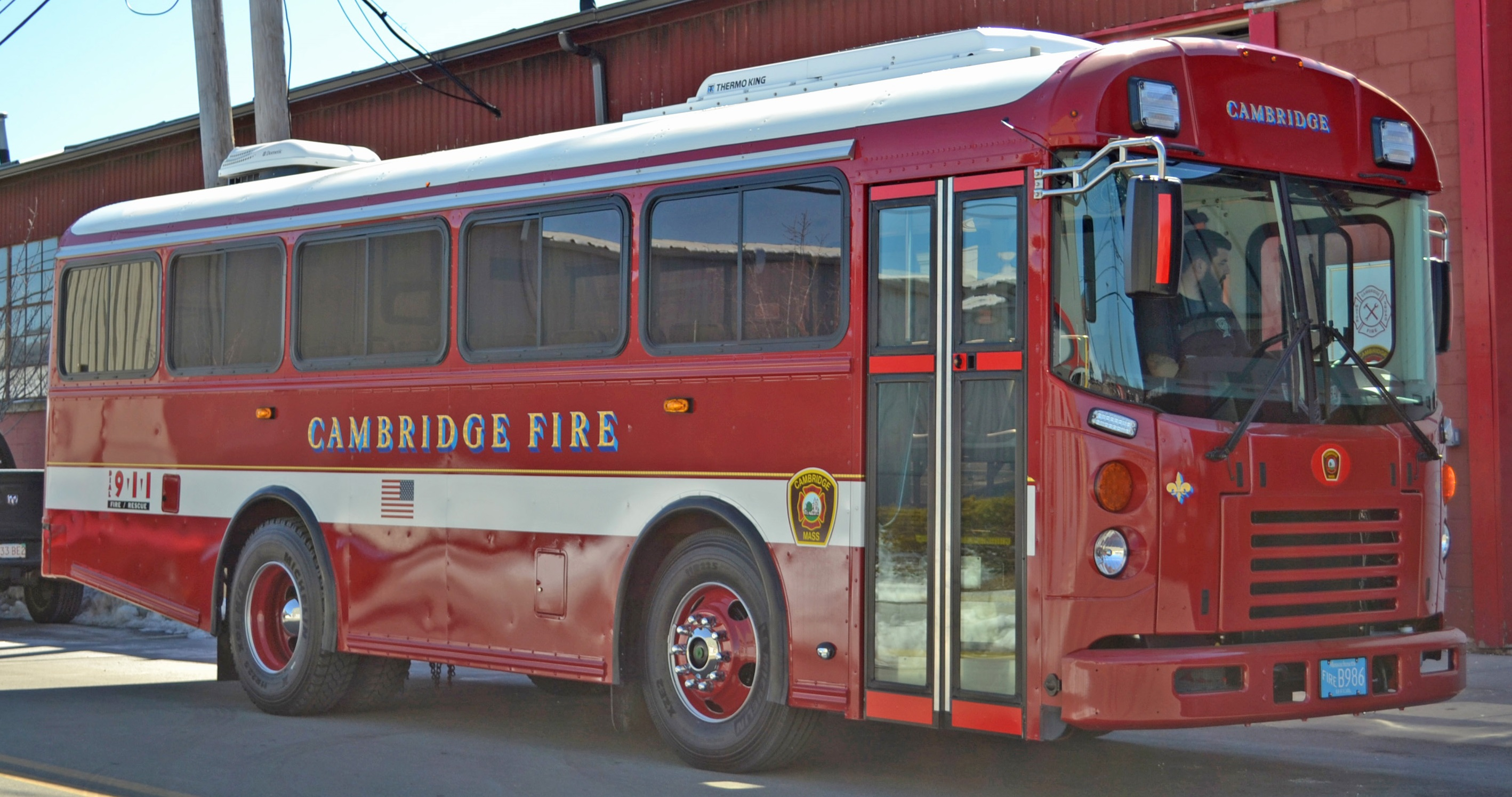 CFD Bus side view