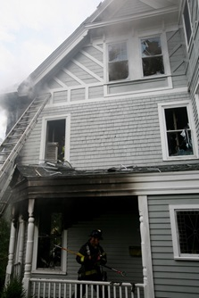 Belleviewe Avenue Fire