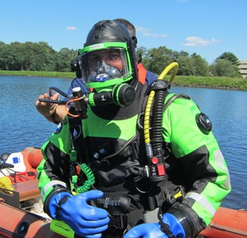 dive team training