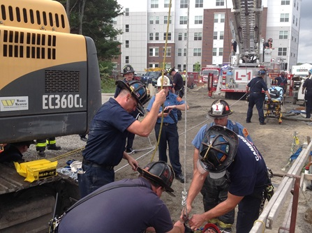 Fawcett St Confined Space Sept 2016