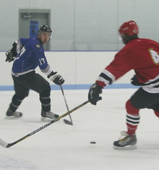 fire vs police Hockey Tournament