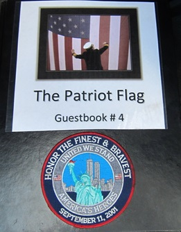 Patriot Flag Visits Cambridge