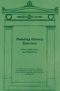 Cover of Painting Historic Exteriors