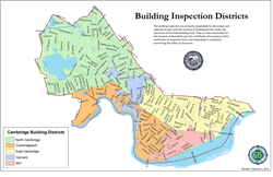 Building Districts Map