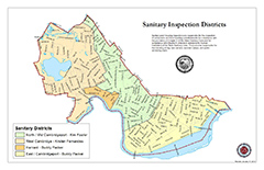 thumbnail of Cambridge sanitary districts