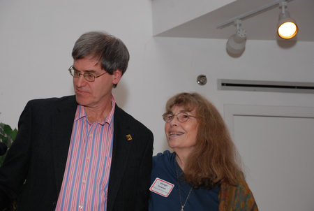 Charles Knight and Shelagh Foreman