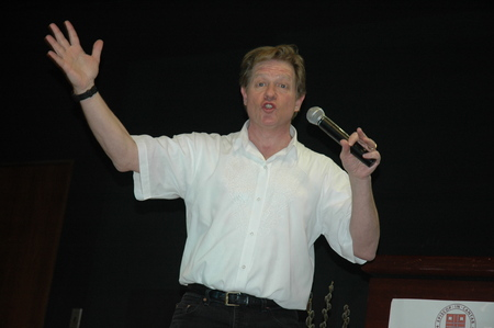 Jimmy Tingle wows the crowd