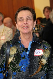 State Representative and former Mayor Alice Wolf